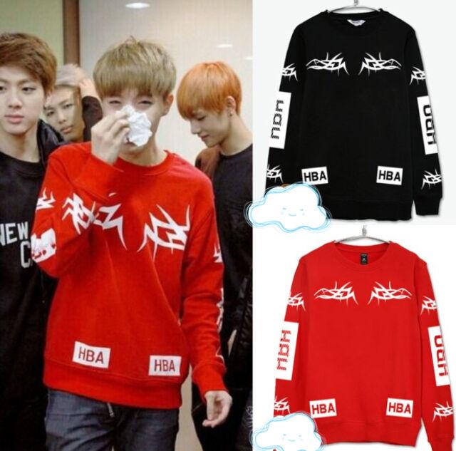 BTS Bangtan Boys Kpop jumper sweater cotton  2014live unisex Kpop New