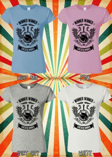 Winner Winner Chicken Dinner PUBG Men Women Vest Tank Top Unisex T Shirt 2096
