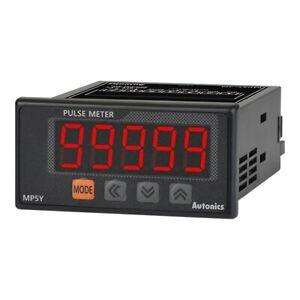 Autonics MP5Y-44 Digital Pulse Panel Meter W72xH36mm Current Output 100-240VAC