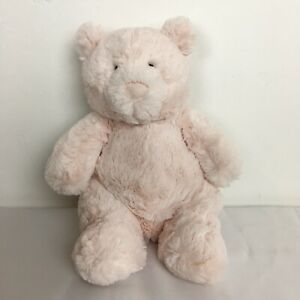 Retired-2017-Pink-Squidgy-Little-Jellycat-Teddy-Bear-Beanie-Paws-JELLY2511SH