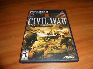civil war a nation divided ps2