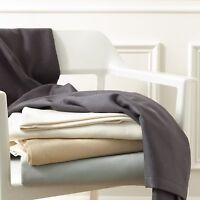 Matouk Dream Modal Twin Blanket - Silver