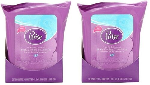 poise cooling wipes