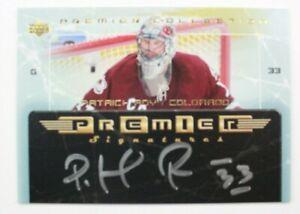 2003-04-UD-Premier-Collection-Signatures-PSPR-Patrick-Roy