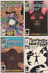 Fantastic-Four-LOT-28-collection-Byrne-Buckler-Skrulls-FN-VF-marvel-1982-94