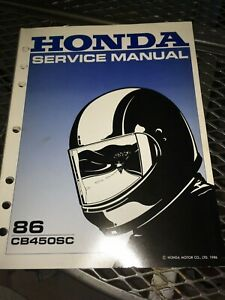 GENUINE-HONDA-SERVICE-SHOP-MANUAL-CB450-SC-NIGHTHAWK-1986-Ry22b