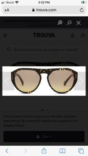Oliver Goldsmith Gopas Speckle Sunglasses