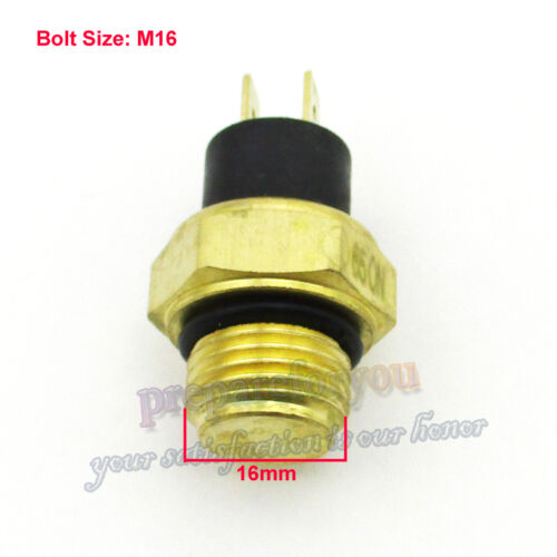 M16 Radiator Thermal Fan Switch Thermostat For Water Cooled ATV Quad 250cc