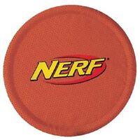 Nerf Dog Nylon Flying Disc Dog Toy Colors Vary