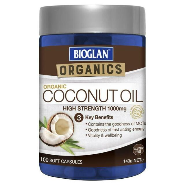 Bioglan Superfoods Coconut Oil 100 Capsules