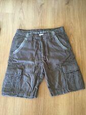 Bermudas Shorts Zara 32-42 Pantalón Corto Vintage Efecto Desgaste Military Army