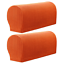 Sofa Couch UK 2x Removable Arm Chair Protector Armchair Covers Armrest Stretch