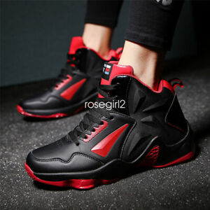 Men-039-s-Basketball-Shoes-Boots-High-Top-Performance-Sport-Shoes-Athletic-Sneakers