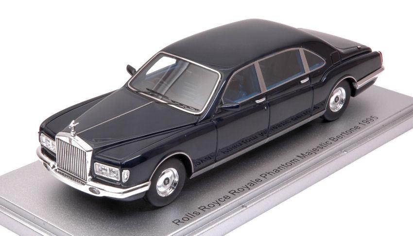 Bertone Royale Phantom Majestic 1990 bleu 1 43 Model KESS MODEL