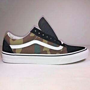 adc2c42f Details about VANS Old Skool Woodland Camo Black White Skateboard Shoes  VN0A38G1NRA Size 11.5