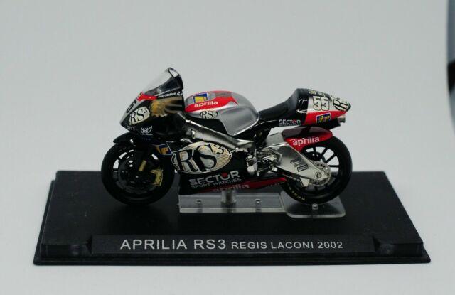 Nice 1/24 Aprilia RS3 Regis Laconi 2002 MotoGP Altaya Ixo ...