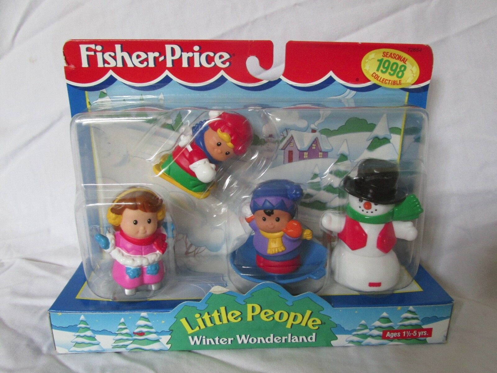BRAND NEW IN BOX - FISHER PRICE LITTLE PEOPLE - CHRISTMAS WINTER WONDERLAND 1998