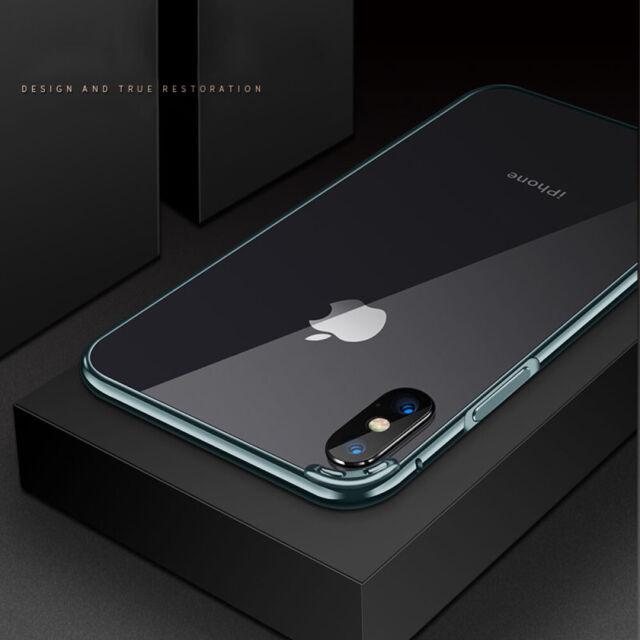 promo code fdfe1 16590 Luxury Metal Aluminum Frame Bumper Slim Case Cover For iPhone X 7 8+ XR Xs  Max