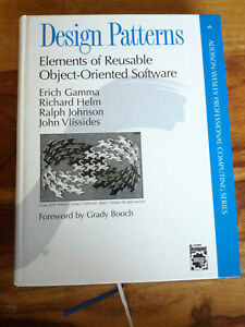 Design Patterns Elements Of Reusable Object Oriented Software Hardback Like New Ebay