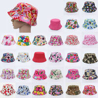 Newborn Toddler infant Children Baby Girl Boy Sun Hat Bucket Cap Beanie Summer