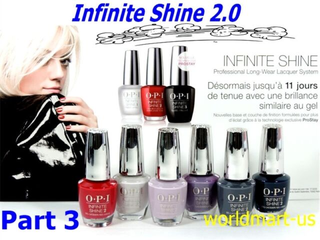 Opi Infinite Shine Polish Nail Lacquer Color Base Top Last Up To 10 Days Part 3