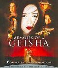 LN Memoirs of a Geisha Blu-ray 2007