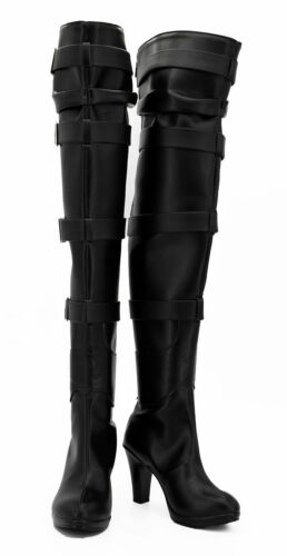 The Witcher 3 Wild Hunt Yennefer Boots Shoes Game Cosplay Costume Halloween N11