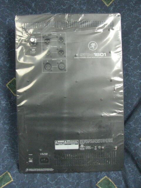 MACKIE SRM1801 or TH-18S Subwoofer amp FLAT RATE REPAIR SERVICE!