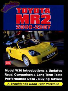 toyota mr2 portfolio book mr 2 spyder brooklands ebay rh ebay co uk