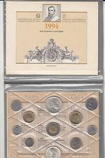 ITALIA 1994 DIVISIONALE ZECCA BU UNC TINTORETTO /CARAVELLE IN ARGENTO 11 MONETE