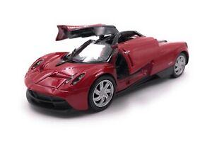Modello-di-auto-paganai-OSCURA-hypercar-ROSSO-AUTO-SCALA-1-3-4-39-con-licenza