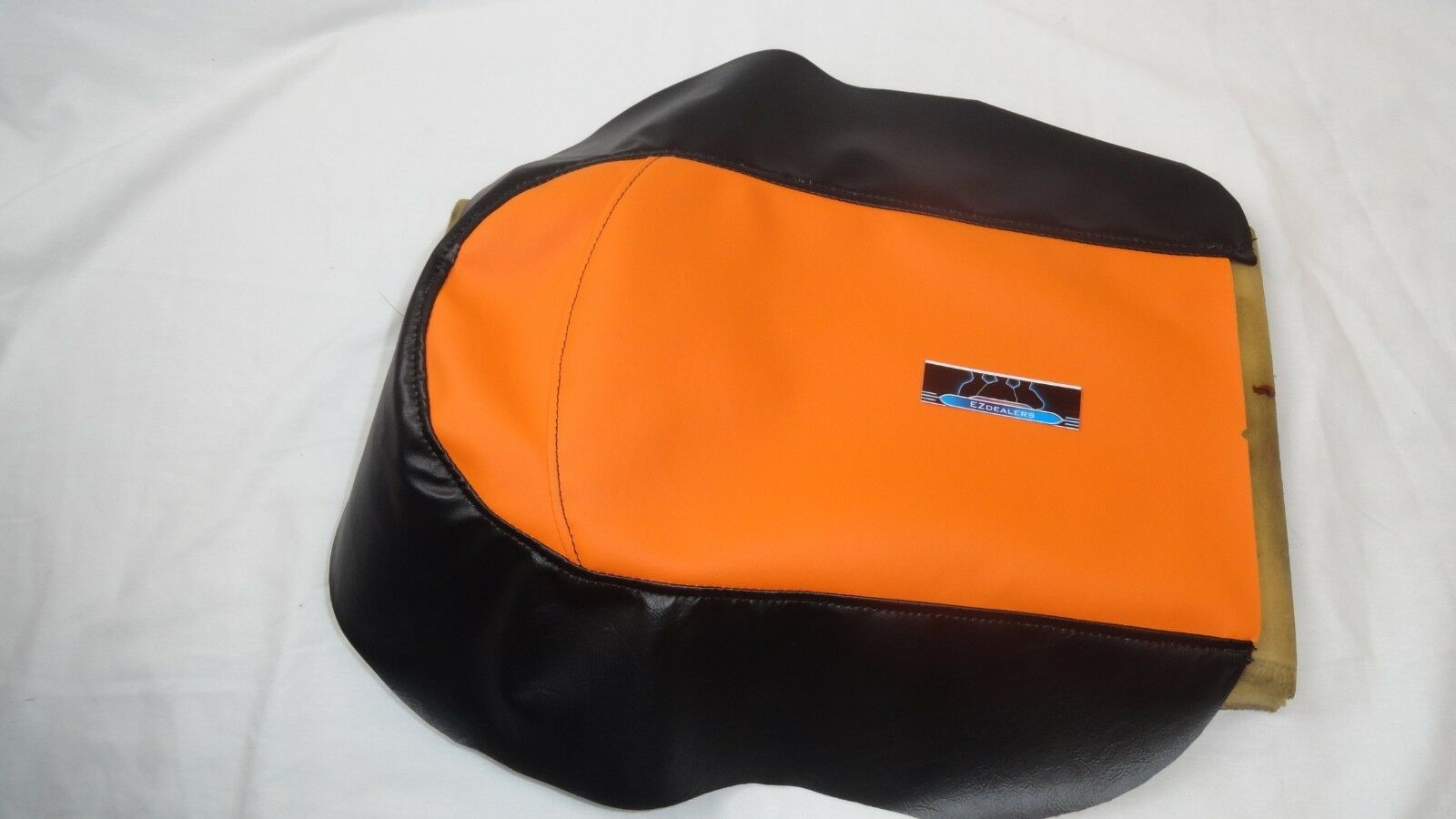 Polaris youth 120 snowmobile seat cover Orange. Fits most models 2000 to 2015