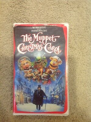 The Muppet Christmas Carol (VHS, 1993) 717951729033 | eBay
