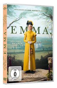 Emma (2019) [DVD/Nuovo/Scatola Originale] neuadaption del-Jane Austen-classico gioco con Anya Tay