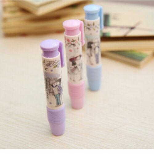 3 Farben Stift Form Radiergummi Gummi Studenten Schreibwaren Schule Home Kid-HQ