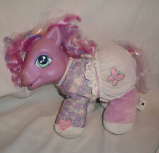 "My Little Pony Baby Alive 10"" Purple Plush Toy Stuffed Animal"
