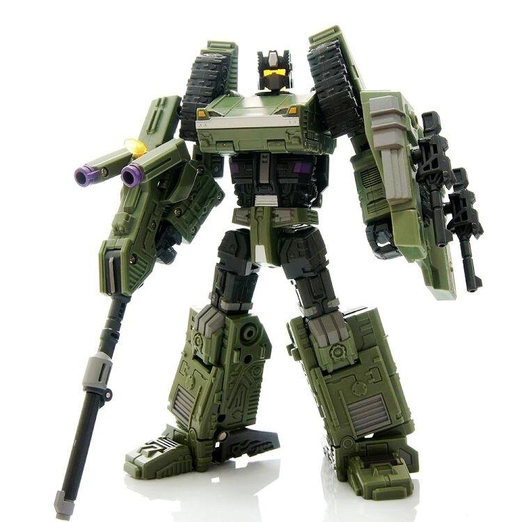 Warbotron Transformers WB01-B Bruticus Heavy Noisy figura versión 2.0 en existencias