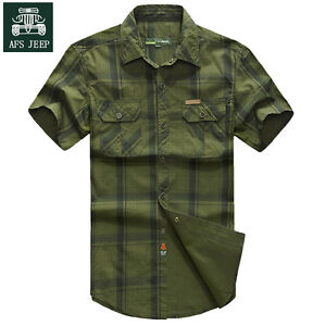 Brand-New-Men-Fashion-Short-Sleeve-Cotton-Casual-Slim-Fit-Shirts