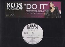 Nelly Furtado Say it Right Remix / Do it with Missy Elliott 2006 Promo Vinyl LP