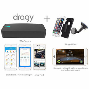 Details about Dragy GPS Performance Meter Bluetooth 4 0 + FREE MAGNETIC CAR  MOUNT