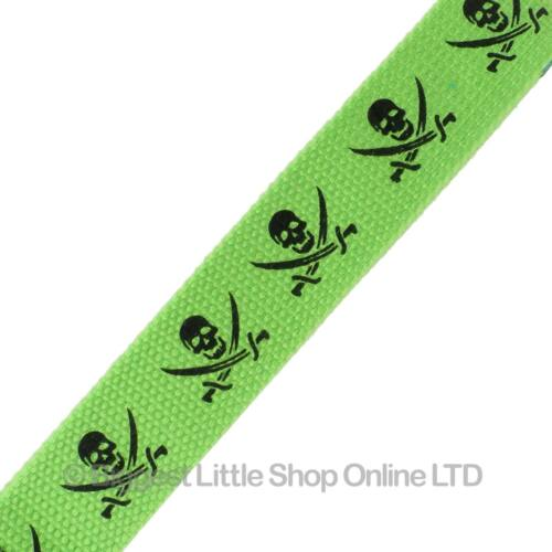 NEW Various Designs GREEN Neon UV Fashion Webbing BELT Goths Punks Skaters