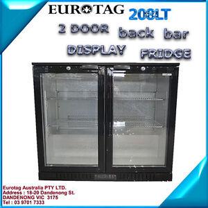 EUROTAG-208LT-2-DOOR-UNDER-BENCH-BACK-BAR-DISPLAY-FRIDGE-1-Years-Warranty