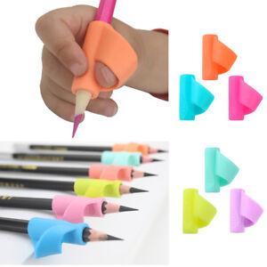 3* Children Pencil Holder Pen Writing Grip Posture Correction Hand Hold Help