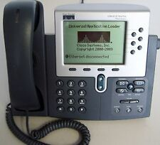 lot of 2 - Cisco CP-7960G VoIP Phone with SIP, TESTED and WARRANTY