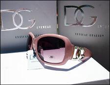 NUOVO Da Donna Designer oversize DG Eyewear COOL Rosa Moda Occhiali da sole