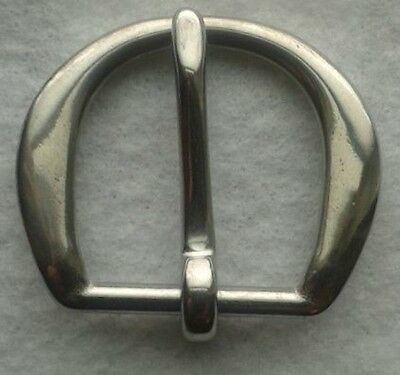 """1-1/4"""" Stainless Steel Belt Buckle Hand Polished Lot Of 100"""