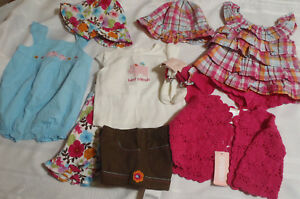 Gymboree  outfit set romper overalls top  3-6 6-12 12-18 18-24 choice line lot