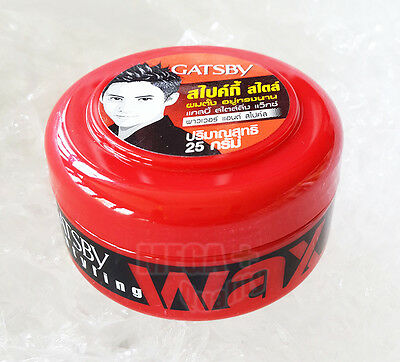 GATSBY WAX POWER and SPIKES GEL Japan For Men Series hair styling 25 grams