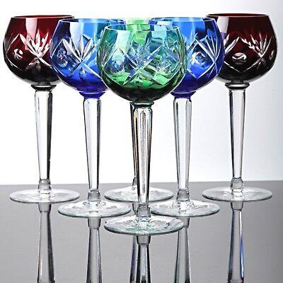 Römergläser kristall römer gläser weingläser weinrömer überfang bleikristall