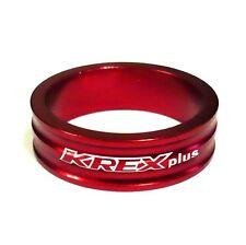 """4g 10mm 285 gobike88 KREX alloy headset spacer blue for 1-1//8/"""" headset"""